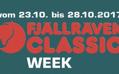 FJÄLLRÄVEN Classic WEEK vom 23-28.10.2017